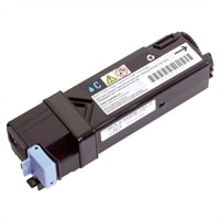Dell - 2500 Pages High Capcity Cyan Toner Cartridge for Dell 2130cn Printers