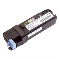 Dell - 2500 Pages High Capcity Yellow Toner Cartridge for Dell 2130cn Printers
