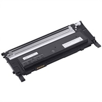 Dell - 1500 Page Black Toner Cartridge for Dell 1230c/1235cn