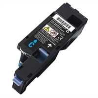 Dell - Cyan - original - toner cartridge - for Color Printer C1760; Multifunction Color Printer C1765