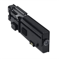 Dell 6,000-Page Black Toner Cartridge for Dell C2660dn/C2665dnf Color Printers
