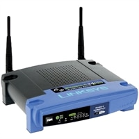 Cisco Linksys Wireless-G (54Mpbs) Broadband Router with 4-Port Switch