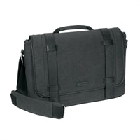 Targus 15.6'' City Fusion Canvas Messenger - Charcoal Canvas