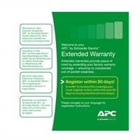APC Concurrent Extended Warranty - Extended service agreement - parts - 1 year - shipment - response time: NBD