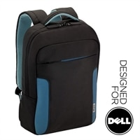 "Targus 17 "" Soft Hug Backpack (Black/Blue)"