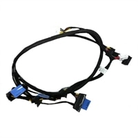 "Kit - PERC Controller SAS Cable for 4x3.5"" Chassis"