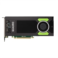 Dell 8GB NVIDIA Quadro M4000 without Bracket (4 DP) (1 DP to SL-DVI adapter) Full-Height Graphic Card