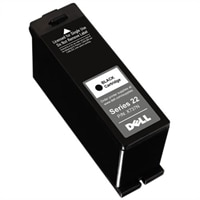 Dell - Single High Capacity Black Cartridge for Dell V313 Printers (Srs22)