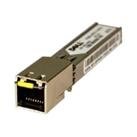 Dell Networking SFP Transceiver 1000BASE-T - up to 100 m, Customer Install