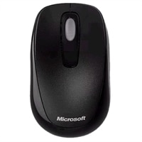 Microsoft 1000 Wireless Mobile Mouse (Black)