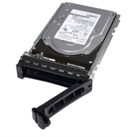 Dell 10,000 RPM Self-Encrypting NLSAS Hard Drive 12Gbps 2.5in Hot-plug Drive, 3.5in Hybrid Carrier FIPS140-2, CusKit - 1.8 TB