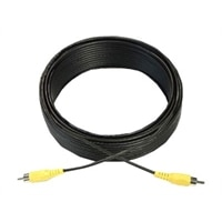 Dell - Video cable - composite video - RCA (M) to RCA (M) - 15.2 m - black - for Dell