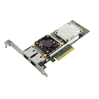 Dell QLogic 57810 Dual-Port 10Gb Base-T Low Profile Network Adapter