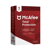 McAfee® Total Protection – Electronic Software Download - 1 Year Subscription License – 1 Device – Windows