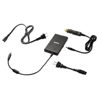 Dell 65-Watt 2 Prong Auto / Air AC Adapter with European Power Cord for Select Dell Inspiron / Latitude / Studio / Vostro / XPS Laptops / Precision Mobile WorkStations