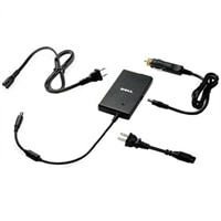 Dell - UK / Irish - 2 Wire - Slim Air/Auto/AC Adapter