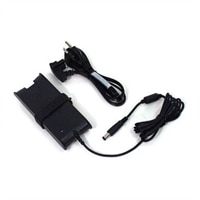 Dell - UK/Irish - 65W - AC Adapter 3 Pin Power Supply with 2M Power Cord - Kit