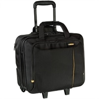 Meridian II Roller Laptop Case - Fits Laptops with Screen Sizes Up to 15.6'' (40cm) - Black