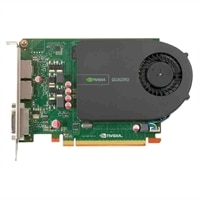 Dell Graphics : 1 GB NVIDIA Quadro 2000 (2DP & 1DVI-I) (1DP-DVI & 1DVI-VGA adapter) (MRGA17L) (GD76J)