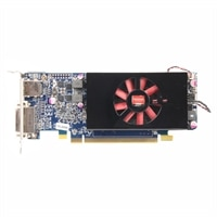 Dell Graphics : 1GB AMD Radeon HD 7570 (Half Height 1DP &amp; 1DVI-I) for Optiplex 9010 / 7010 MT/DT/SFF/USFF / 3010 MT/DT/SFF