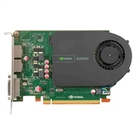 Dell Graphics : 1 GB NVIDIA Quadro 2000 (2DP &amp; 1DVI-I) (1DP-DVI &amp; 1DVI-VGA adapter) (MRGA17L) (82H1X)