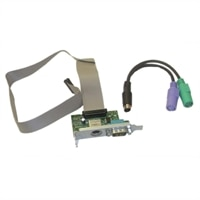 Dell Serial Port/PS2 Adapter Card (Low Profile) ROHS Compliant Kit