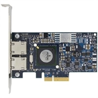 Dell Broadcom NetXtreme II 5709 Dual Port Gigabit Ethernet NIC PCIe x4 with TOE and iSCSI - Kit