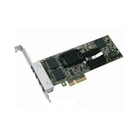Dell Intel Gigabit ET Quad Port Server Adapter - Network adapter - PCI Express x4 - Gigabit Ethernet - 4 ports