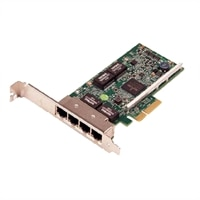 Dell Broadcom 5719 QP 1Gb Network Interface Card - Kit