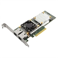 Dell QLogic 57810 Dual Port 10 Gigabit Base-T Server Adapter Ethernet PCIe Network Interface Card