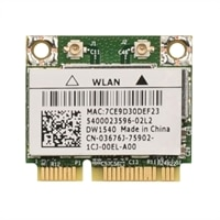 Wireless : EMEA Dell Wireless 1540 (802.11 a/b/g/n 2x2) Half Mini Card (Kit)