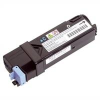Dell - 2130cn - Cyan - High Capacity Toner Cartridge - 2,500 Pages