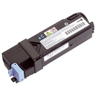 Dell - 2130cn - Cyan - Standard Capacity Toner Cartridge - 1,000 Pages