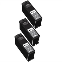 10% off on 3 X Dell P513w High Capacity Black Ink Cartridge Single Use