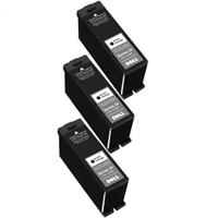 10% off on 3 X Dell V715w High Capacity Black Ink Cartridge Single Use