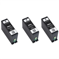 10% off on 3 X Dell V525w & V725w Extra High Capacity Black Ink Cartridges