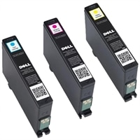 10% off on 3 X Dell V525w & V725w Extra High Capacity Colour Ink Cartridges