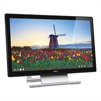 Dell S2240T 21.5'' (54.6 cm) Touch Screen Monitor With Touch Capability - VGA, DVI, HDMI (1920x1080) UK