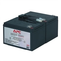 APC Replacement Battery Cartridge #6 - UPS battery Lead Acid - for P/N
