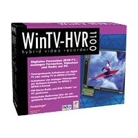 Hauppauge WinTV HVR-1100 - DVB-T receiver / analogue TV tuner / video input adapter - PCI - SECAM, PAL-B/G, PAL-I, PAL-K, PAL-D