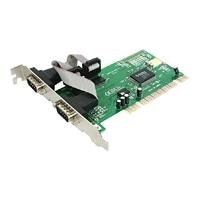 StarTech.com 2 Port PCI Serial Adapter Cards - Serial adapter - PCI - serial RS-232 - 2 ports (pack of 10)