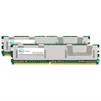 4 GB (2 x 2 GB) Memory Module For Selected Dell Systems - DDR-667 FBDIMM 2RX4 ECC (SNP9W657CK2/4G) (A2052496uken)