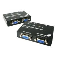 StarTech.com VGA Video Extender over Cat5 / UTP - Video extender - external - up to 130 m