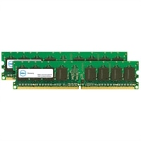 2 GB (2 x 1 GB) Memory Module For Selected Dell Systems - DDR2-800 UDIMM 2RX8 ECC (SNPKN992CK2/2G) (A2336972uken)