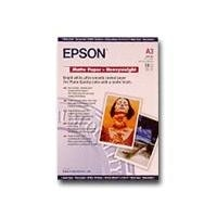 Epson - Heavy-weight matte paper - A3 (297 x 420 mm) - 167 g/m2 - 50 sheet (s) - for Stylus Pro 11880, Pro 3880, Pro 4880, Pro 7900; SureColor SC-T3000, T5000, T7000