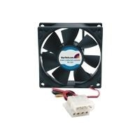 StarTech.com 80x25mm Ever Lubricate Bearing PC Computer Case Fan w/ LP4 Connector - Case fan - 80 mm
