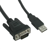 C2G - Projector cable - M1 (M) - 4 PIN USB Type A, HD-15 (M) - 3 m