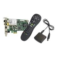 Hauppauge WinTV HVR-1700 MC-Kit - DVB-T receiver / analogue TV tuner / video input adapter - PCI Express x1 low profile - PAL