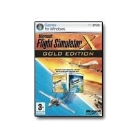 Microsoft Flight Simulator X Gold Edition - Complete package - PC - DVD (DVD case) - Win - English