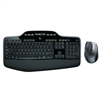 Logitech Wireless Desktop MK710 - Keyboard and mouse set - 2.4 GHz - English - United Kingdom